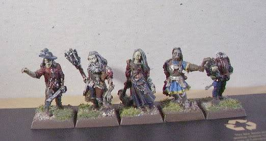 Undead warband Zombies