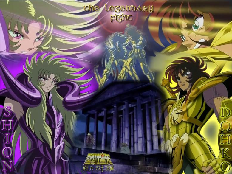 Qual cavaleiro de Ouro mais forte? Dohko-vs-Shion