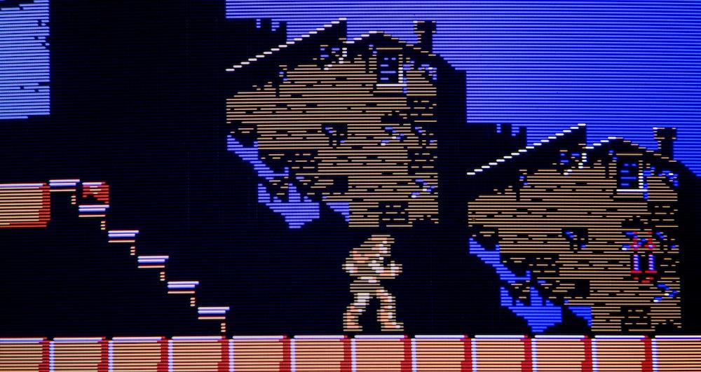 My AV Famicom commission for: Phonedork Castlevania3RGB