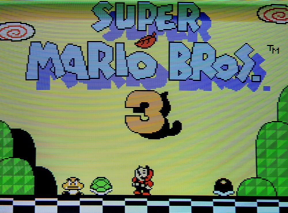 My AV Famicom commission for: Phonedork Supermario3RGB