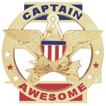 un cafecito entre caza y caza :3~ - Página 2 CaptainAwesomeBadge