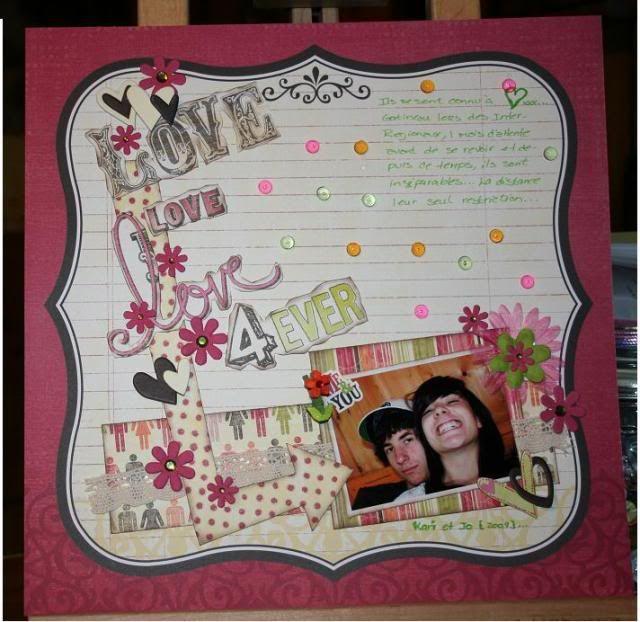 Septembre 2009 - Utilisation d'une photo 2X3 LoveLoveLove