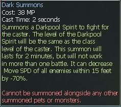 New race character skills: Anuran DarkSummons2