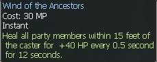 New race character skills: Anuran WindoftheAncestors2
