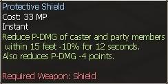 New race character skills: Human ProtectiveShield2