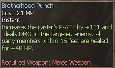 New race character skills: Ursun  BrotherhoodPunch2