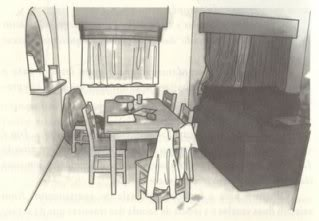 Chapter 11 - Analysis Of A Crime Scene - Apartment 5A MaddieDiningRoom
