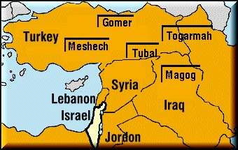 Meshech and Tubal  Rabbi's name the US as leader of the west MAPbefore1940