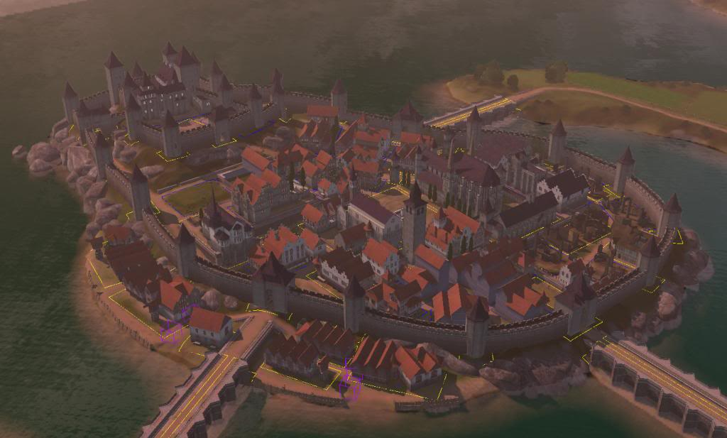 The Medieval City of Praaven [Test Version November 12th]- Let's get Building! - Page 2 Sunset