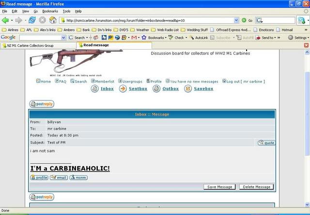 How to Private Message PM7