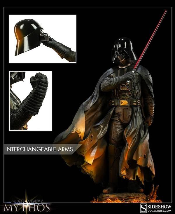 Sideshow - Mythos - Darth Vader - Dark Contemplations - Page 2 200193_press05