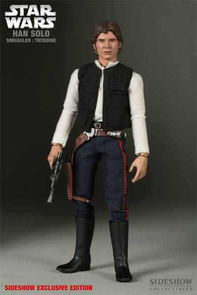 "SW : Han Solo Smuggler Tatooine 12"" figures 21701_press03-001"