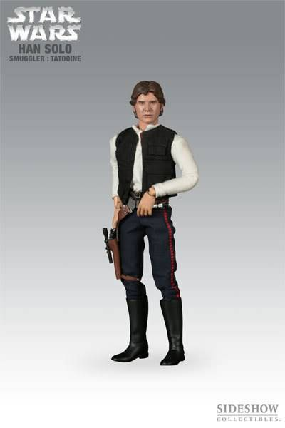"SW : Han Solo Smuggler Tatooine 12"" figures 2170_press01-001"