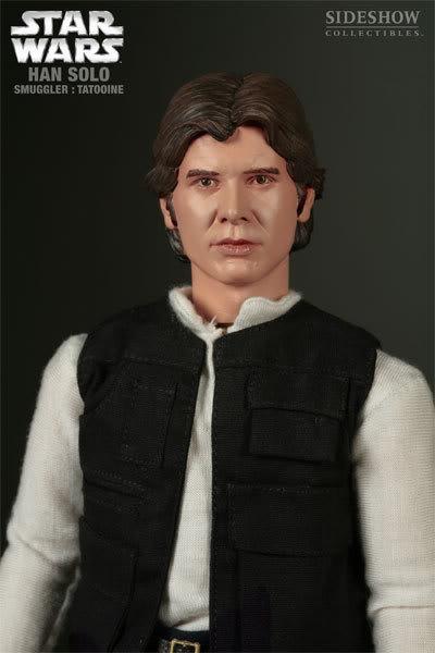 "SW : Han Solo Smuggler Tatooine 12"" figures 2170_press03-001"