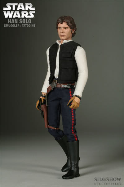 "SW : Han Solo Smuggler Tatooine 12"" figures 2170_press04-001"
