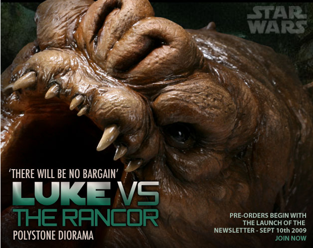'There will be no Bargain' - Luke vs. Rancor Polystone Dio Capture