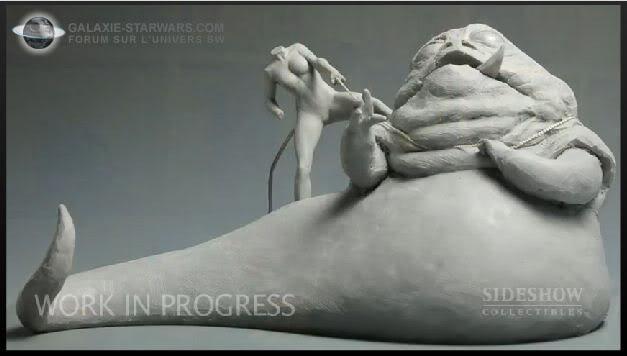 Princess Leia vs Jabba the Hutt diorama Capturecopie