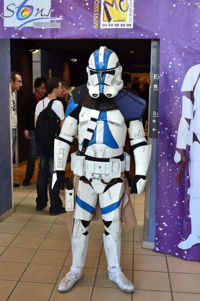 Clone Commander / Commandant Vill armure - Star Wars DSC_0319