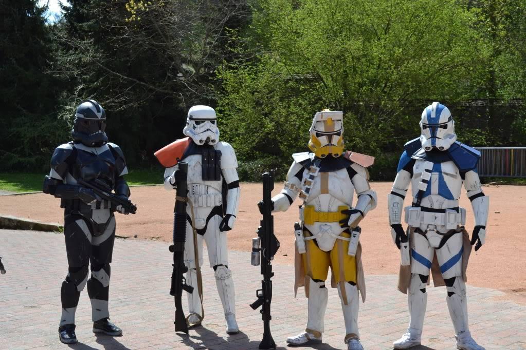 Clone Commander / Commandant Vill armure - Star Wars DSC_0323