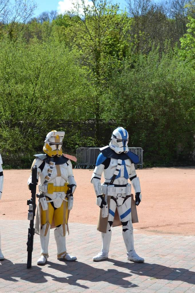 Clone Commander / Commandant Vill armure - Star Wars DSC_0326