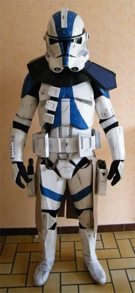 Clone Commander / Commandant Vill armure - Star Wars Image5