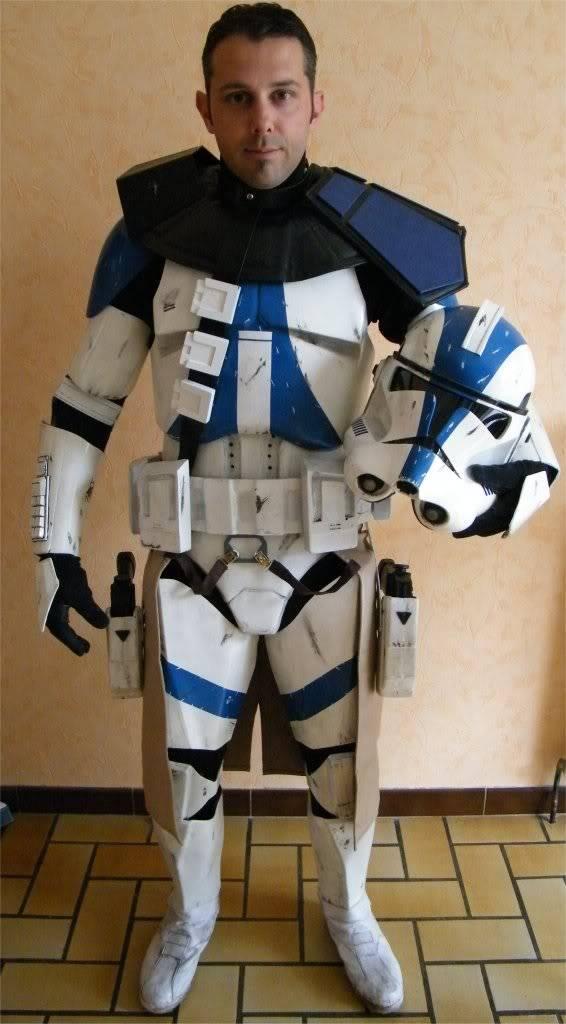 Clone Commander / Commandant Vill armure - Star Wars Image6