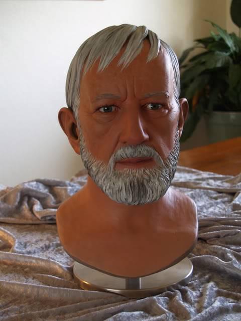 Prop Replica - Buste Obi-Wan 1/1 BenPaint1