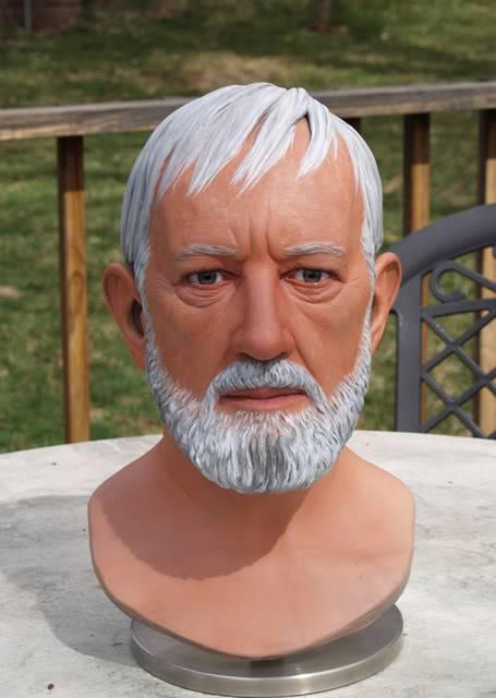 Prop Replica - Buste Obi-Wan 1/1 BenPaint3