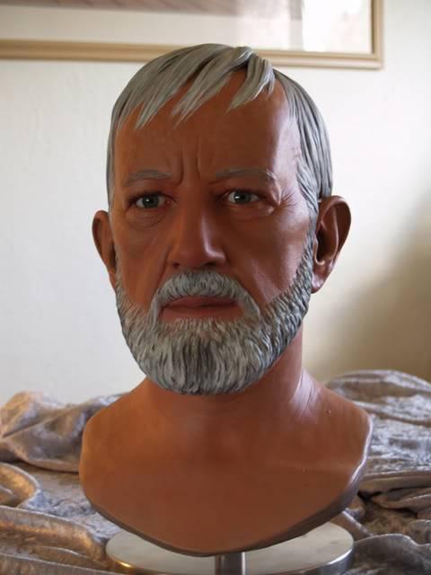Prop Replica - Buste Obi-Wan 1/1 BenPaint4
