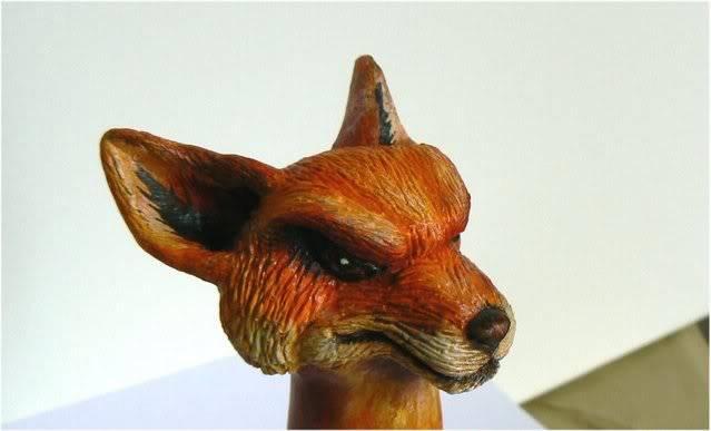 Sculpture - Tête de la Mascotte Galaxie-starwars.com FOX2