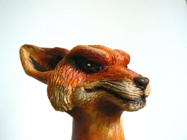 Sculpture - Tête de la Mascotte Galaxie-starwars.com FOX3