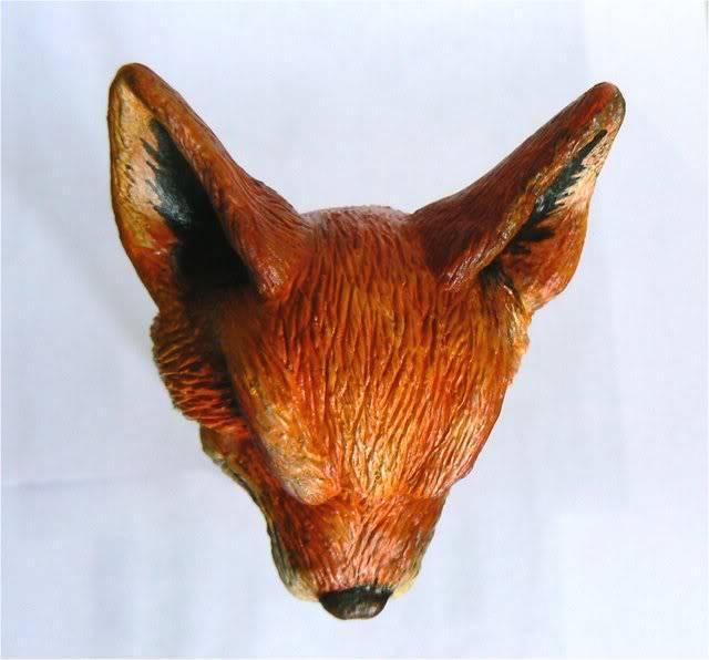 Sculpture - Tête de la Mascotte Galaxie-starwars.com FOX4