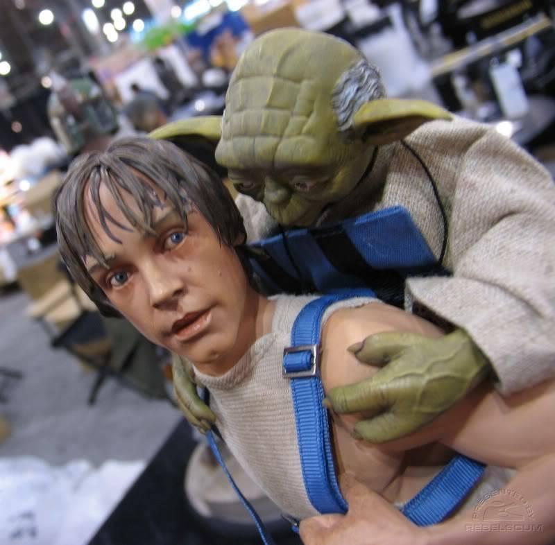Luke & Yoda - Dagobah Training 1/4 Premium IMG_4992