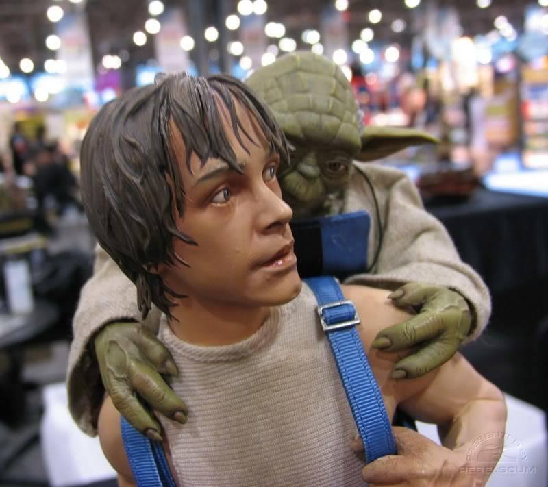 Luke & Yoda - Dagobah Training 1/4 Premium IMG_4993