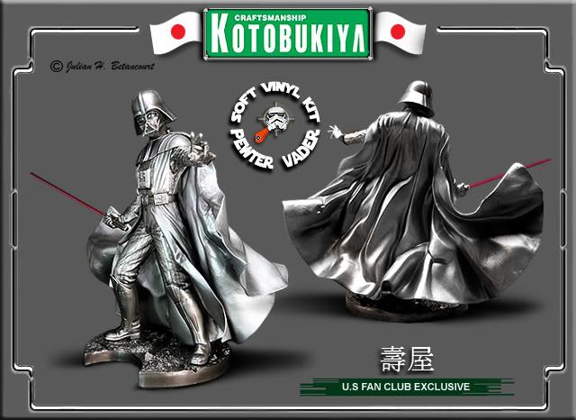 Darth Vader Pewter ARTFX Statue KOTOBUKIYA20200520072