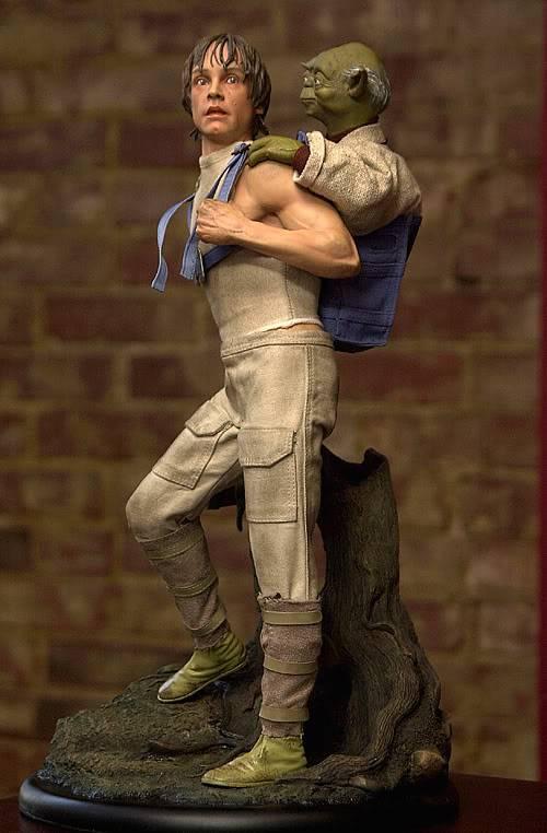 Luke & Yoda - Dagobah Training 1/4 Premium Luke2-1