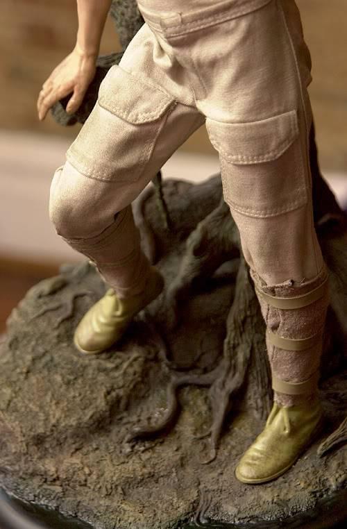 Luke & Yoda - Dagobah Training 1/4 Premium Luke4