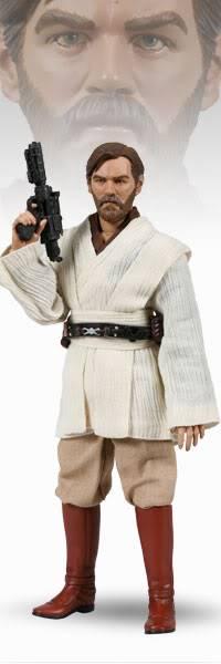 """Database poupées 12"""" Obi-WanKenobi-SideshowExclusive"""