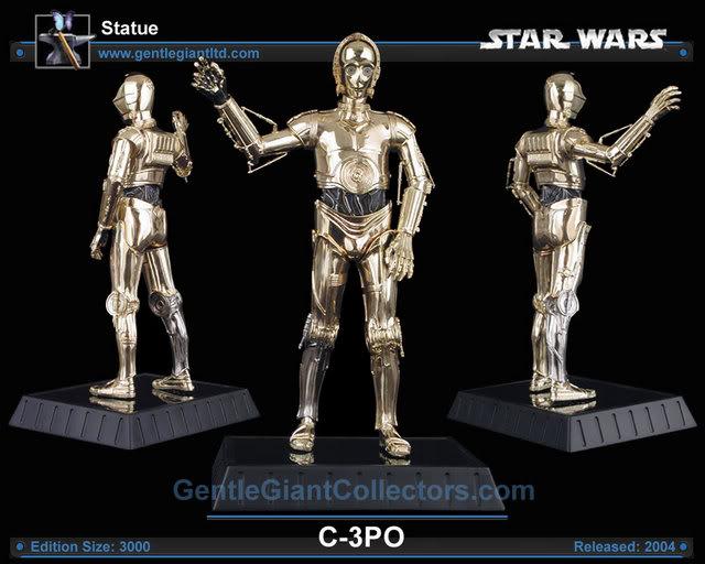 C-3PO Statue SW_statC3PO