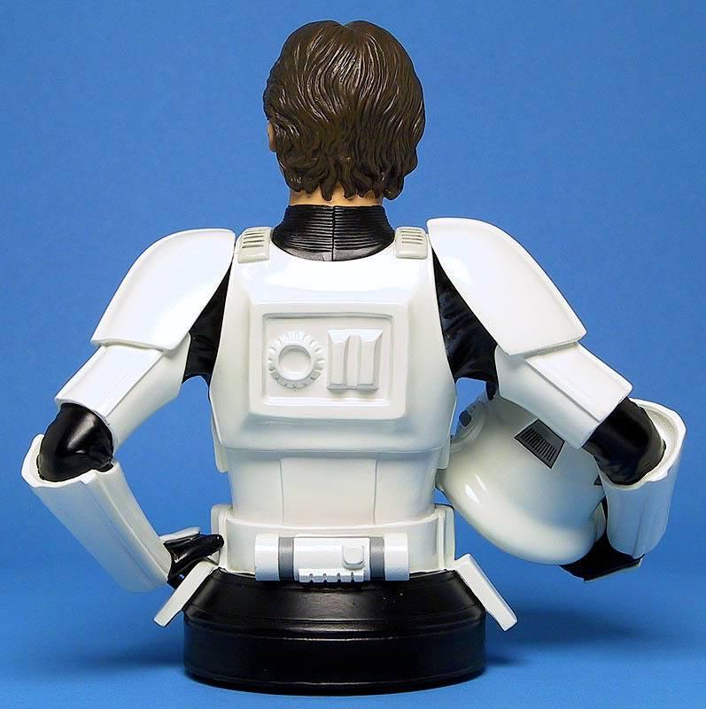 Han Solo in Stormtrooper Disguise Mini bust Ggs05hanstormtrooperback