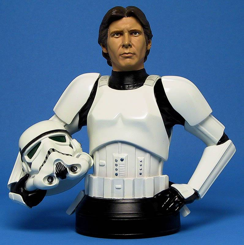 Han Solo in Stormtrooper Disguise Mini bust Ggs05hanstormtrooperfront