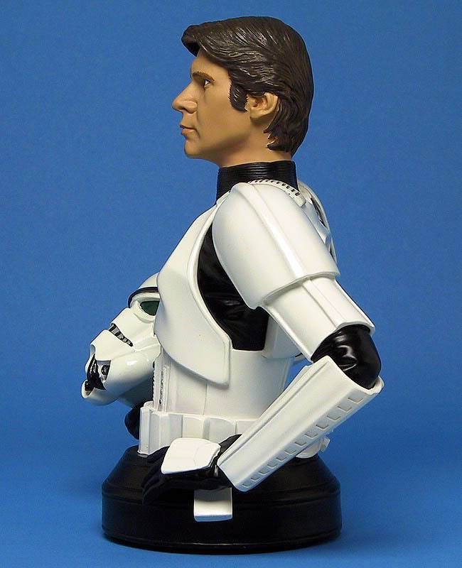 Han Solo in Stormtrooper Disguise Mini bust Ggs05hanstormtrooperleft