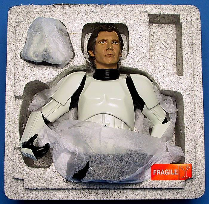Han Solo in Stormtrooper Disguise Mini bust Ggs05hanstormtrooperliner