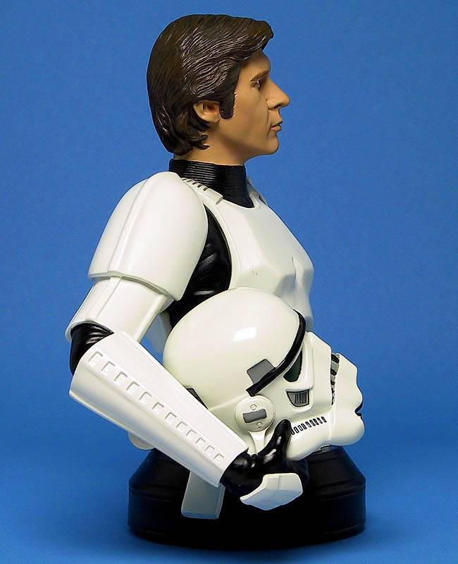 Han Solo in Stormtrooper Disguise Mini bust Ggs05hanstormtrooperright