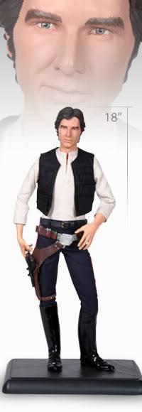 Han Solo 1/4 premium Han