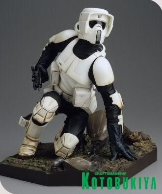 Scout Trooper ARTFX Statue Scout-trooper_330_396