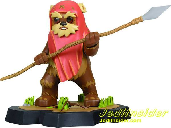 Wicket Animated Statue Maquette Ewok__scaled_600