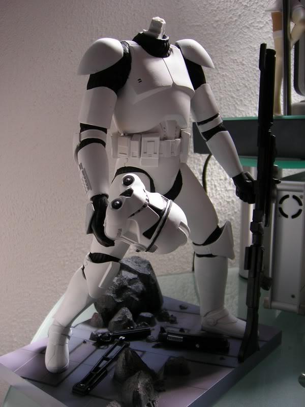 Custom Clone Trooper Kotobukiya en Fox Trooper 10