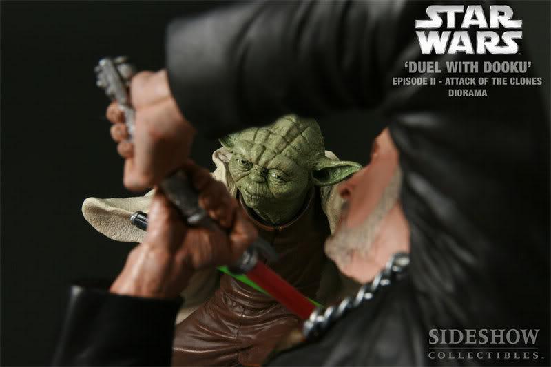 Diorama Yoda vs Count Dooku ! 2203_press05-001
