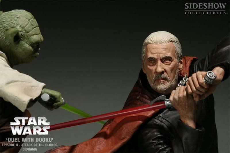 Diorama Yoda vs Count Dooku ! 2203_press06-001